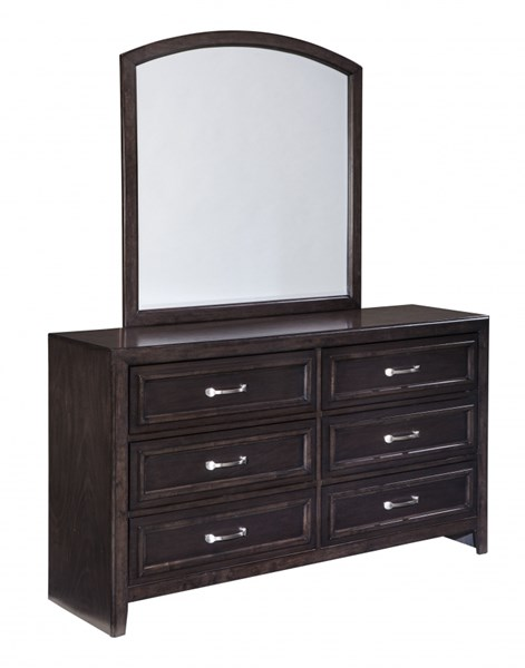 Braymore Contemporary Brown Wood Dresser B562-31